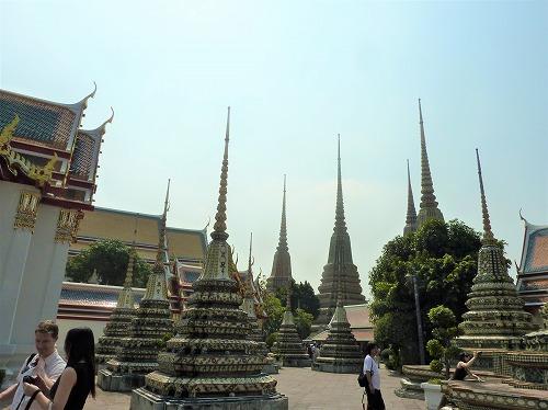 タイ・バンコクのワットポー内部