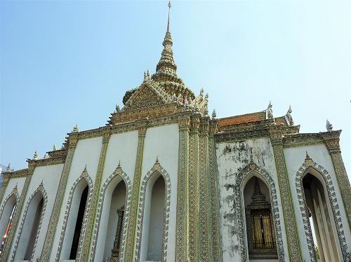 タイ・バンコクのワットプラケオ内部