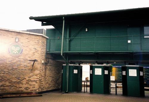 イギリス・ウィンブルドン(オールイングランド・ローンテニス・アンド・クローケー・クラブ)入口