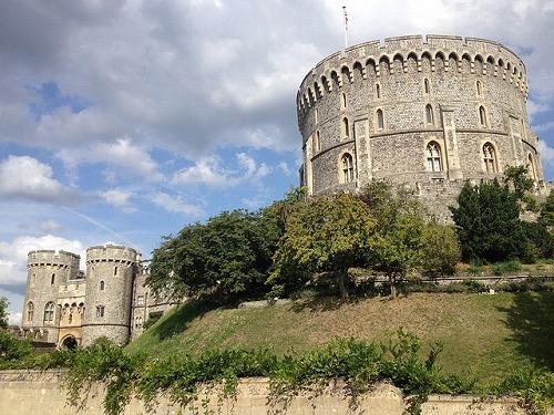 イギリスのウィンザー城のラウンド・タワー