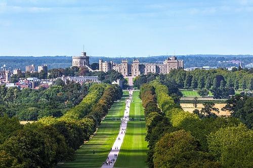 イギリスのウィンザー城