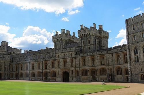 イギリスのウィンザー城の内部