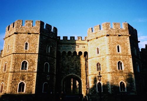 イギリスのウィンザー城の門