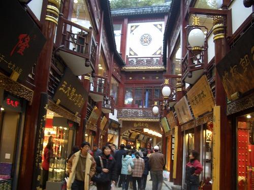 中国・上海の豫園老路