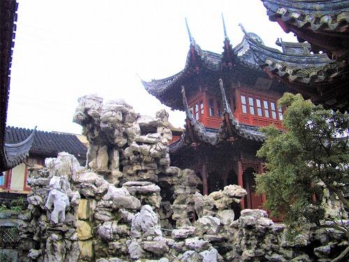 中国・上海の豫園にある仰山堂